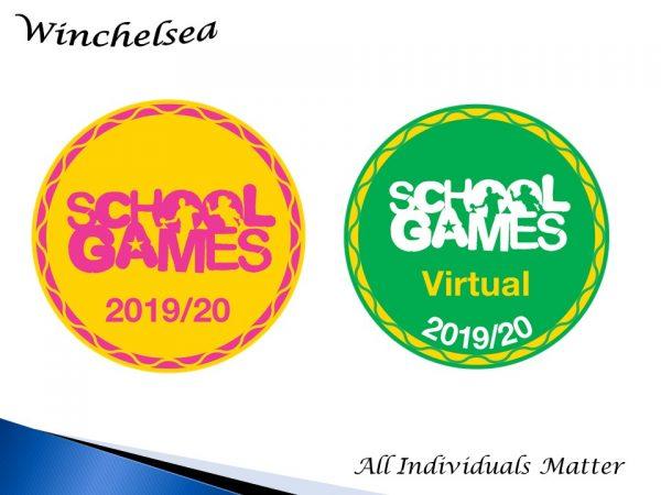 School Games award 2019-20