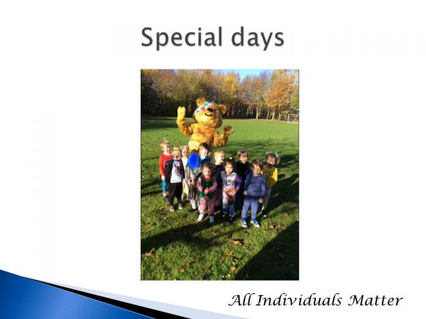 Special days Pudsey 2020